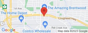 Google Map of 4550+Lougheed+Highway%2CBurnaby%2CBritish+Columbia+V5C+3Z5