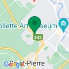 Localisation de la succursale de Valeurs mobilières Desjardins au Joliette sur la carte Google