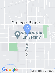 Walla Walla University map