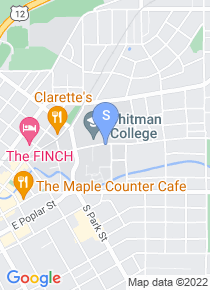 Whitman College map