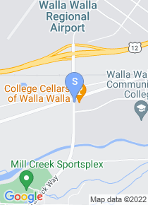 Walla Walla Community College map