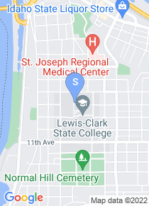 Lewis Clark State College map