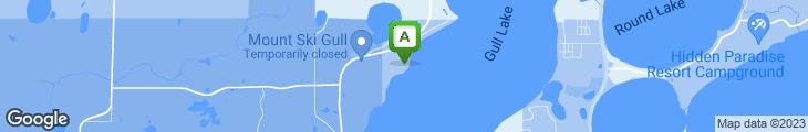 Map of Quarterdeck Resort Boathouse Eatery