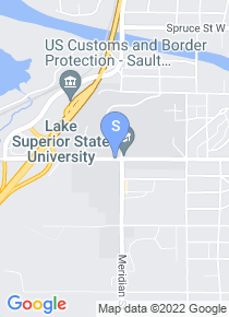 Lake Superior State map