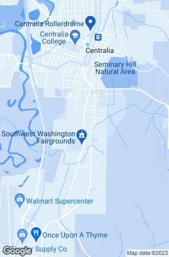 Map of Centralia
