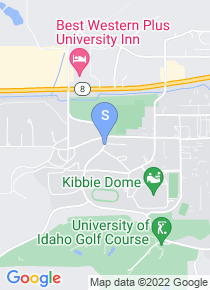 University of Idaho map