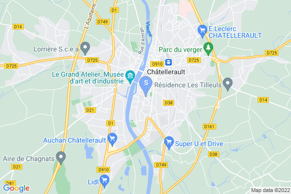 carte - Hockey Club Châtellerault