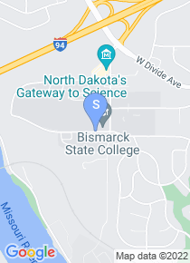 Bismarck State College map