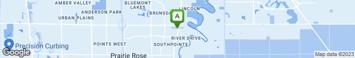 Map of Fargo Cork 'N Cleaver