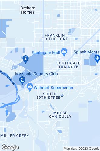 Map of Missoula