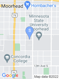 Minnesota State University Moorhead map