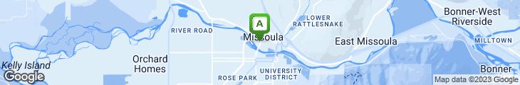 Map of Red Bird Restaurant