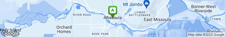Map of Doc's Express Sandwich Shop