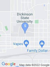 Dickinson State University map
