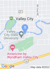 Valley City State University map