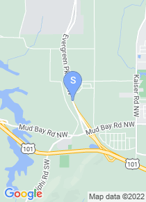 Evergreen State College map