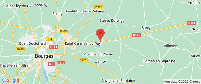Carte Google Map de la vile de Saint-Germain-du-Puy