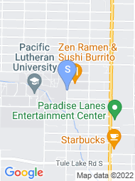 Pacific Lutheran University map