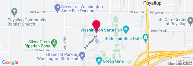 Map for Puyallup Fair & Events Centre