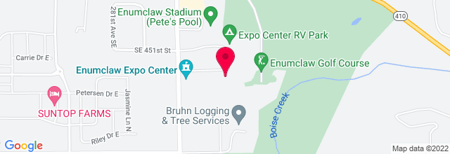Map for Enumclaw Expo Center