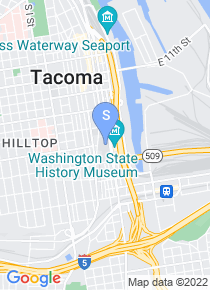 University of Washington Tacoma map