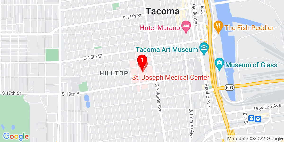 St. Joseph Medical Center Map
