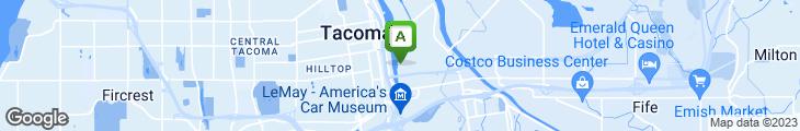 Map of Johnny's Dock Restaurant & Marina