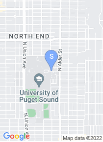 University of Puget Sound map