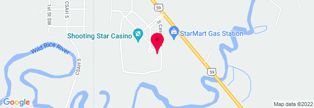 Map for Shooting Star Casino