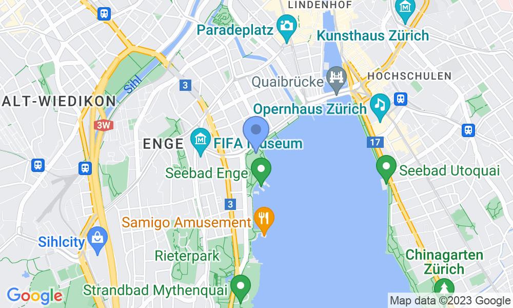 Location of the photo: Arnold Bürkli Monument