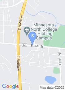 Hibbing Community College map