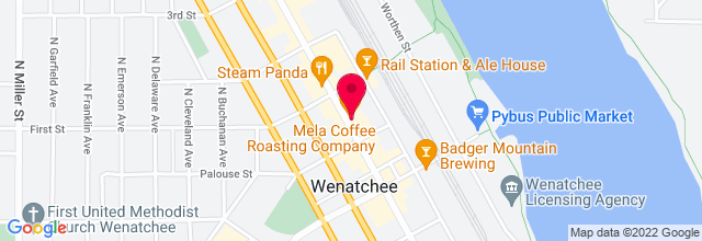Map for Caffe Mela