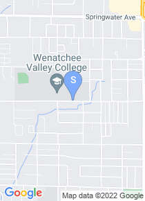 Wenatchee Valley College map