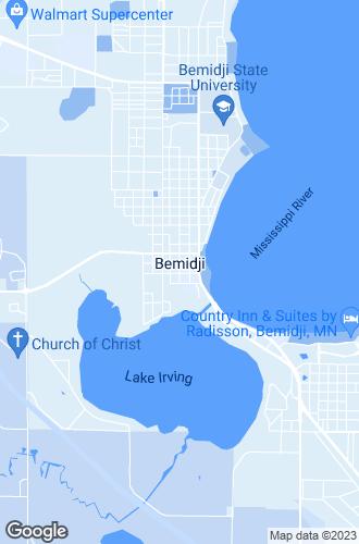 Map of Bemidji