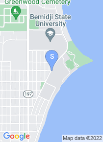 Bemidji State University map