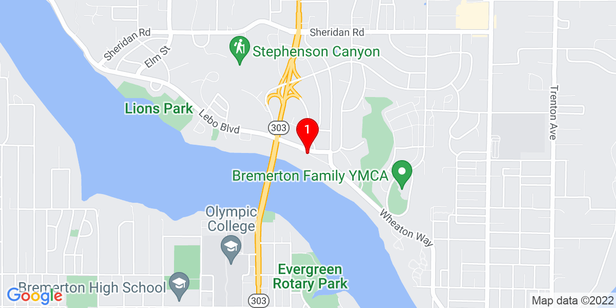 Harrison Medical Center - Bremerton Map