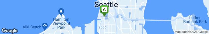 Map of Pyramid Alehouse, Brewery & Restaurant