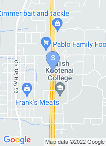 Salish Kootenai College map