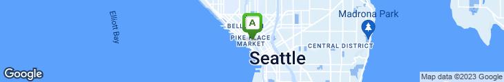 Map of Steelhead Diner