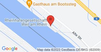 Weil am Rhein - Google Map Karte