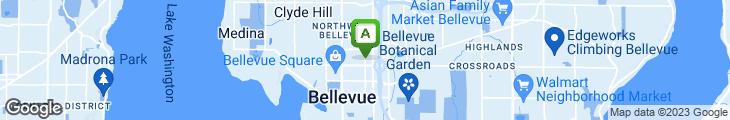 Map of Andiamo Bellevue