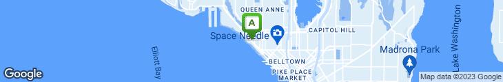 Map of Savannah's Cafe
