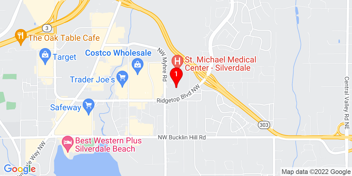 Harrison Medical Center - Silverdale Map