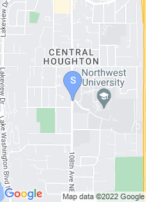 Northwest University map