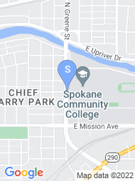 Spokane Community College map