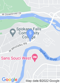 Spokane Falls Community College map