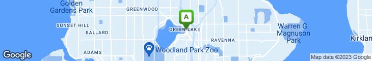 Map of Greenlake Bar