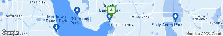 Map of Cafe Juanita