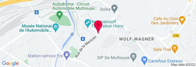 Map for Le Noumatrouff