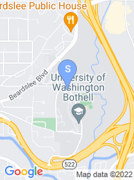 UW Bothell map